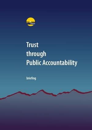 Trust through public accountability (2014)